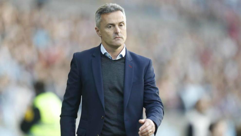 Fran Escribá, técnico del Celta.