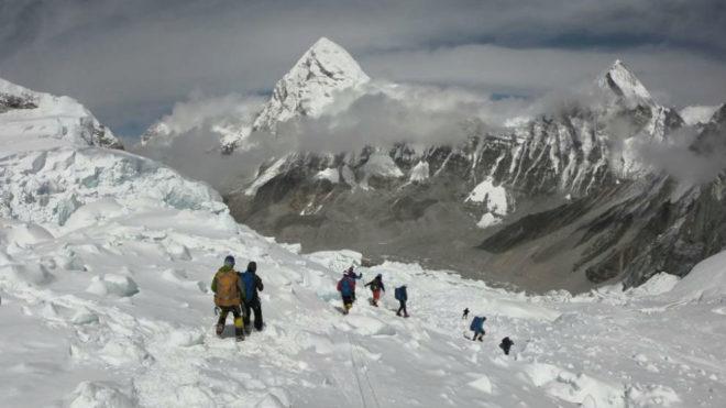 Un imagen del Everest.