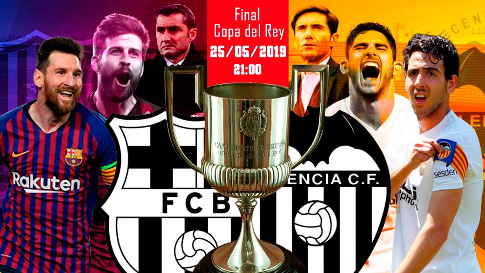 Barcelona vs Valencia - hora y donde ver en television la final de...