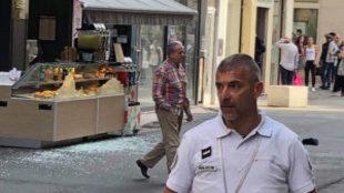 Imágenes de la explosión en Lyon que ha dejado al menos ocho heridos