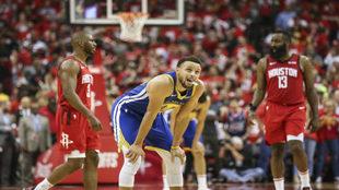 Los Warriors ocasionaron una pelea entre las estrellas de Houston.