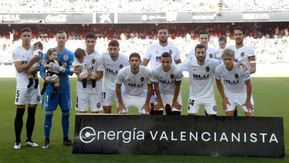 Once inicial del Valencia