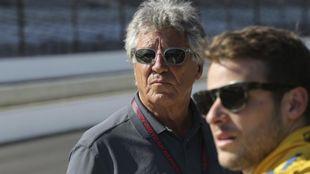 Mario y Marco Andretti.