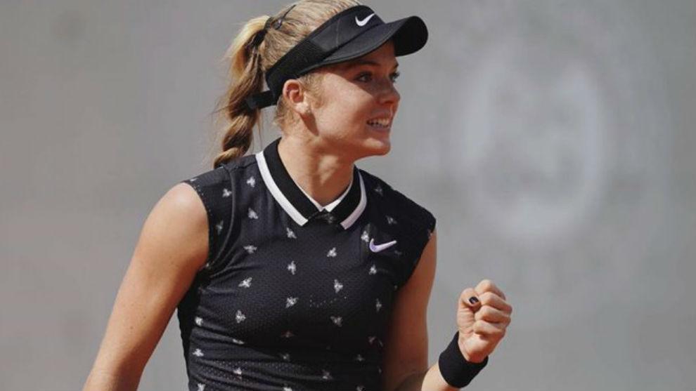 Katie Swan, en Roland Garros
