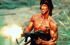 Sylvester Stallone en Rambo