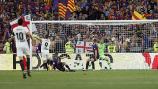 Gameiro marcó de esta forma el primer gol de la final.