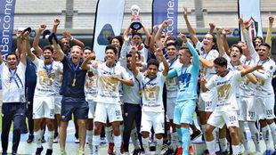 Pumas campeón del Clausura 2019 sub 17.