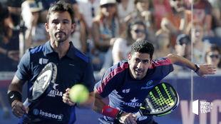 Sanyo Gutierrez y Maxi Sanchez en Jaén.