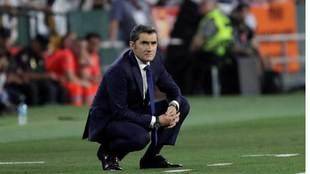 Valverde, tras el partido