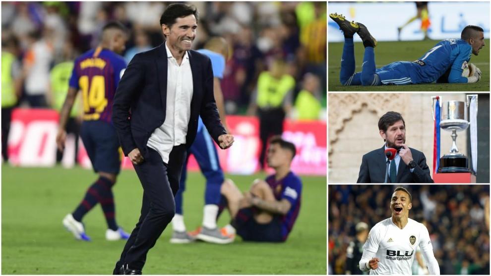 Los héroes de una Copa inolvidable para el Valencia