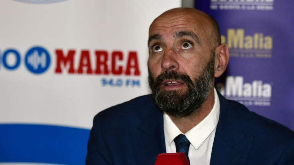 Monchi during a MARCA Radio interview.