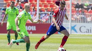 Atlético y Mirándés, en el Cerro.