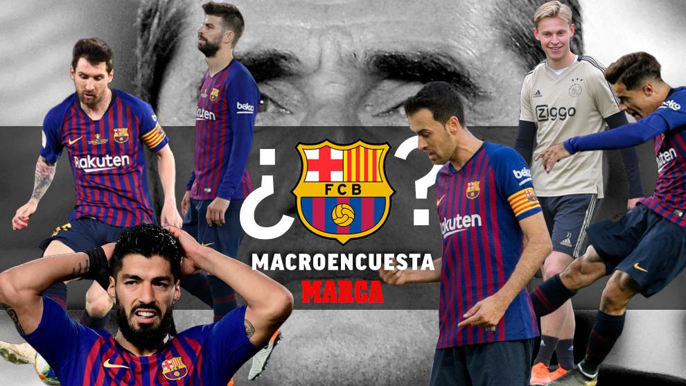Pon nota a los jugadores del Barça y decide a quién fichar