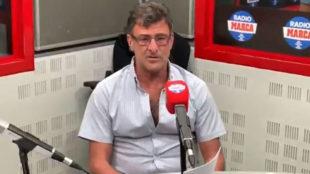 Mario Alberto Kempes, en el estudio de Radio MARCA