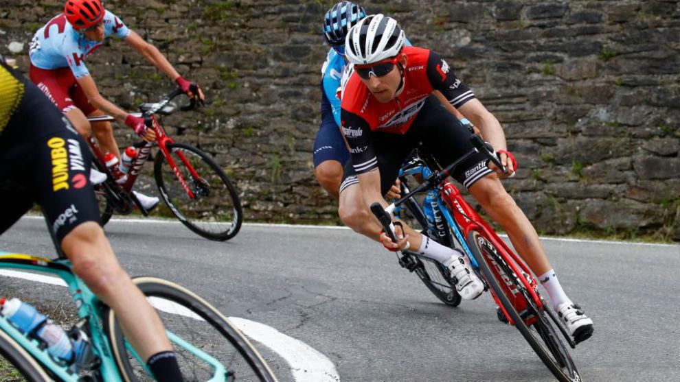 Mollema durante el Giro de Italia.