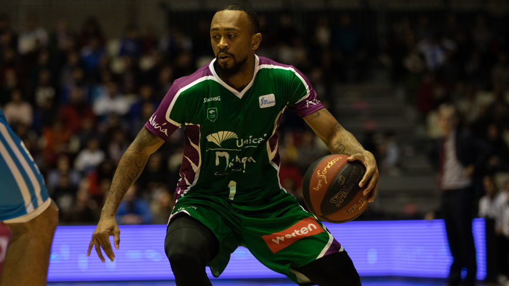 Ryan Boatright en un partido con el Unicaja