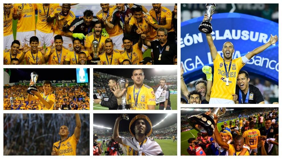 Los Tigres son el equipo más ganador de Nuevo León