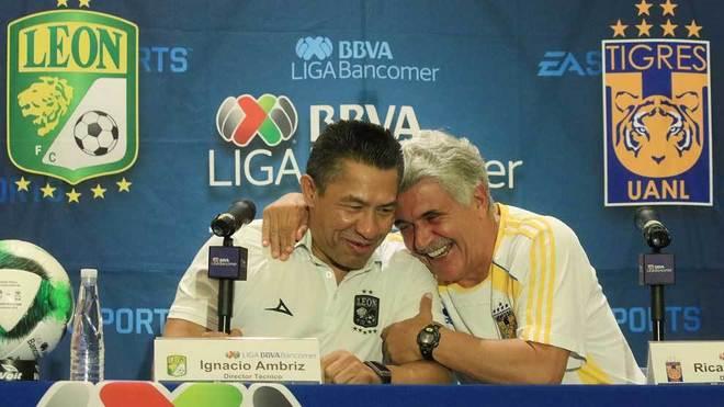 Ferretti y Ambriz, técnicos de Tigres y León, respectivamente