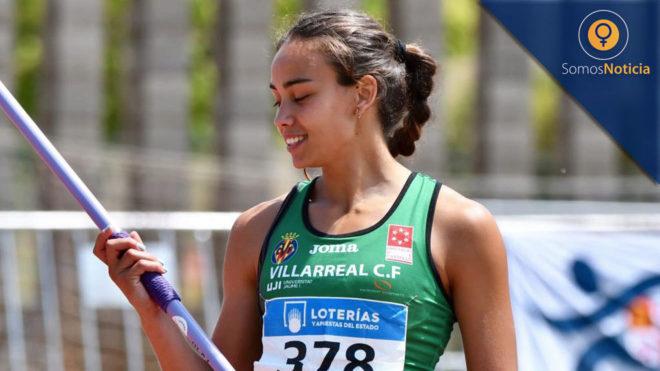 Carmen Ramos, con la jabalina