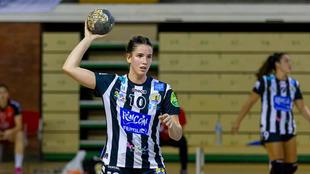 Emma Boada durante un partido con el Rincón Fertilidad /