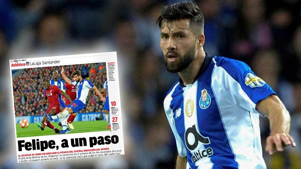 Fichajes Atlético De Madrid: Felipe, Primer Fichaje