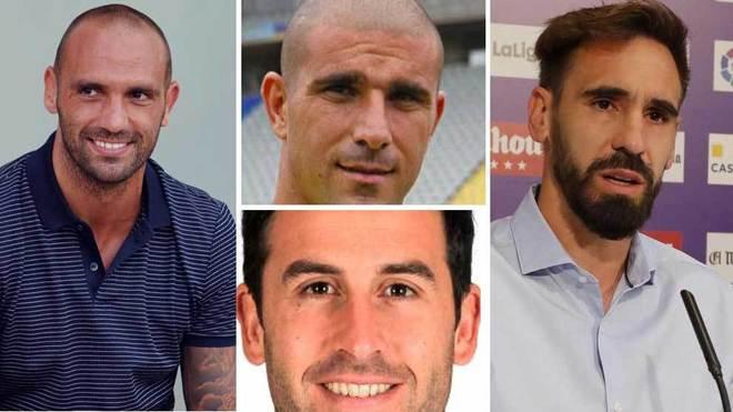 Raul Bravo, Borja Fernández, Iñigo López y Aranda, los futbolistas...