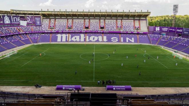 Imagen del estadio José Zorrilla de Valladolid.