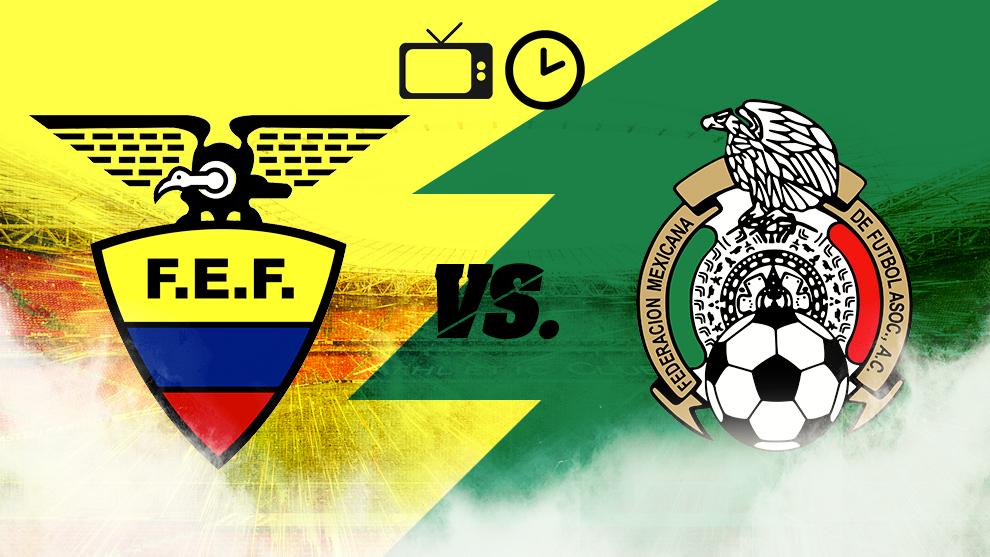 Ecuador vs México, hora y dónde ver