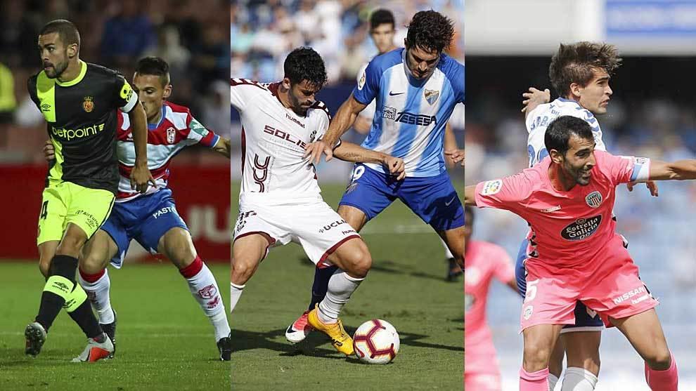 Mallorca-Granada, Albacete-Málaga  y Lugo Tenerife, en la primera...