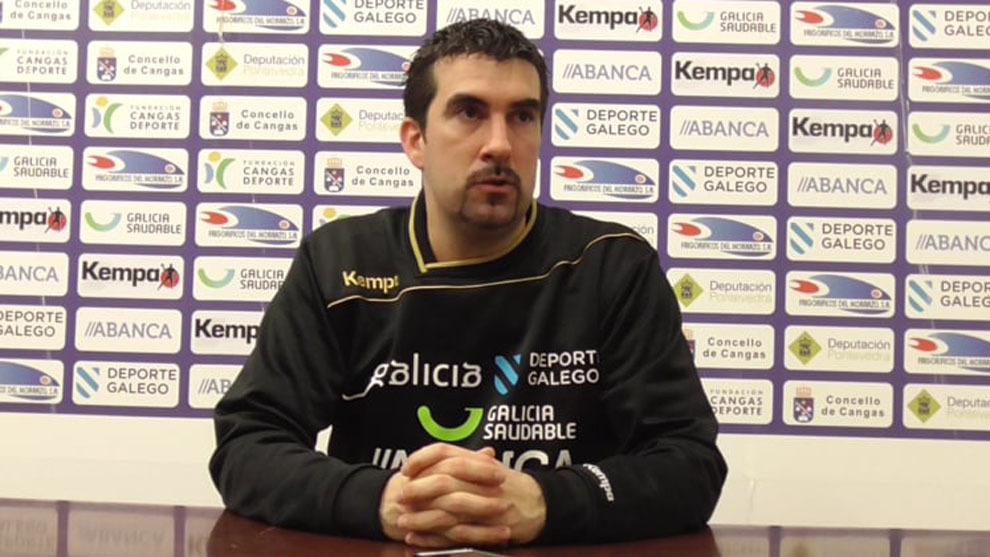Magí Serra, técnico del Cangas /