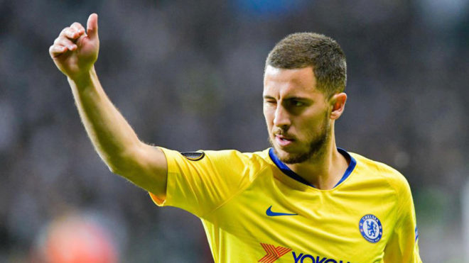 936e04602 19 40. Eden Hazard farewell from Chelsea seems to be getting closer.