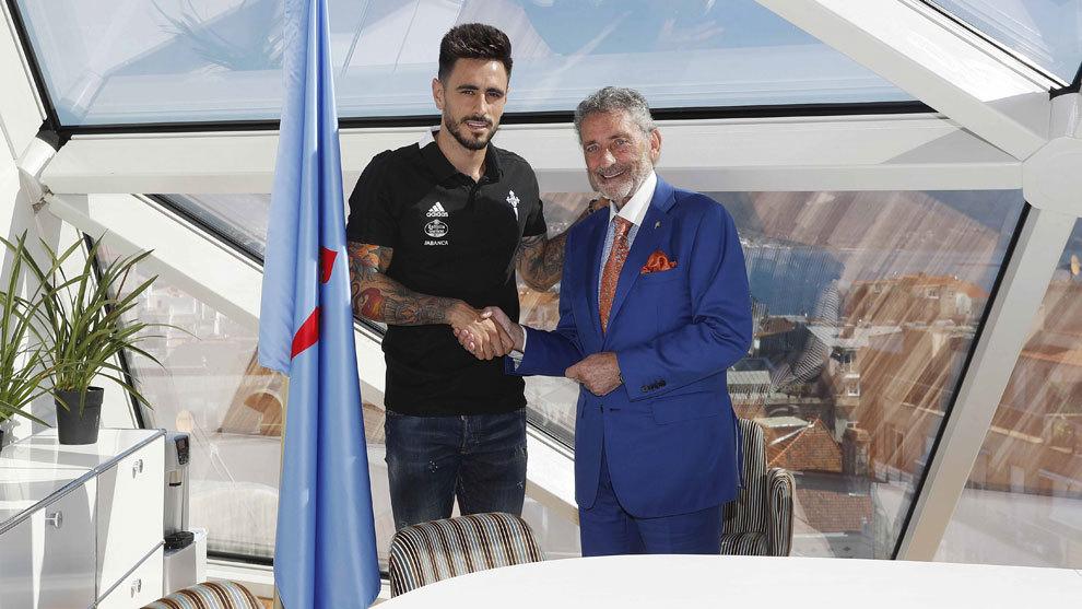 David Costas mejora su contrato y lo amplía hasta el año 2022