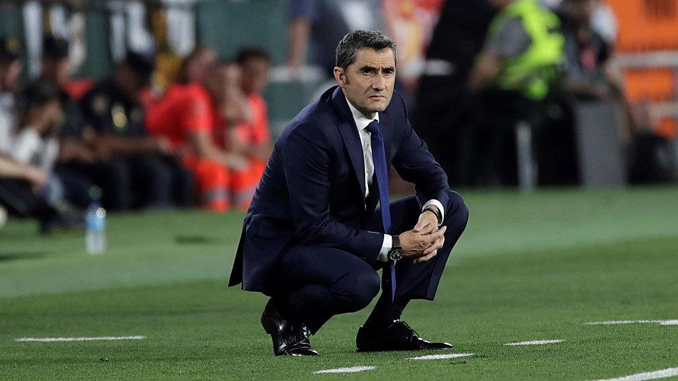 Ernesto Valverde en la mira de Valencia tras el cese de Albert Celades
