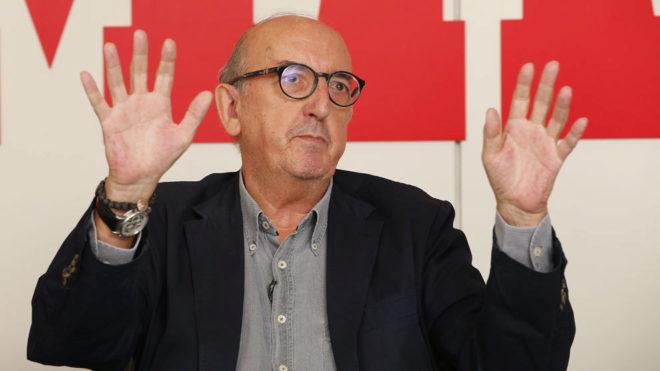 Jaume Roures en una entrevista en MARCA