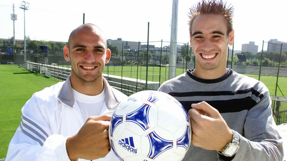Raul Bravo and Borja Fernandez during their time together at Real...