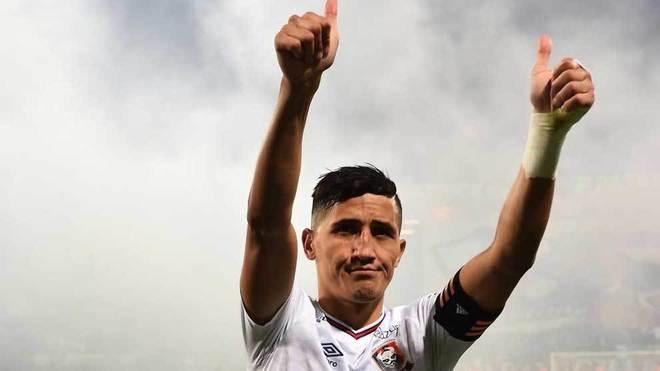 Faycal Fajr, en un partido con el Caen.