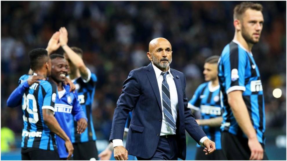 Spalletti se despide después de clasificar al Inter para la...