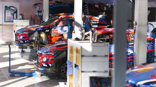 Asistencia del equipo en Exponor (Matosinhos).