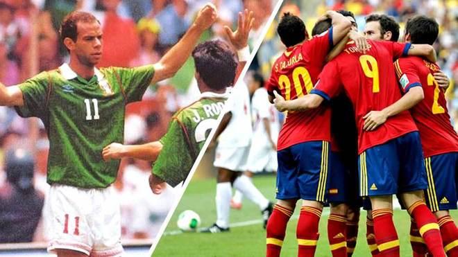 Recordemos las más grandes goleadas en el fútbol internacional.