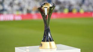 Trofeo que se lleva el ganador del Mundial de Clubes.