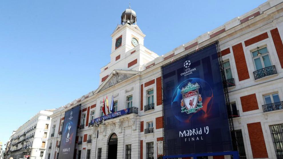 Cortes de tráfico en Madrid y aumento del transporte público por la...