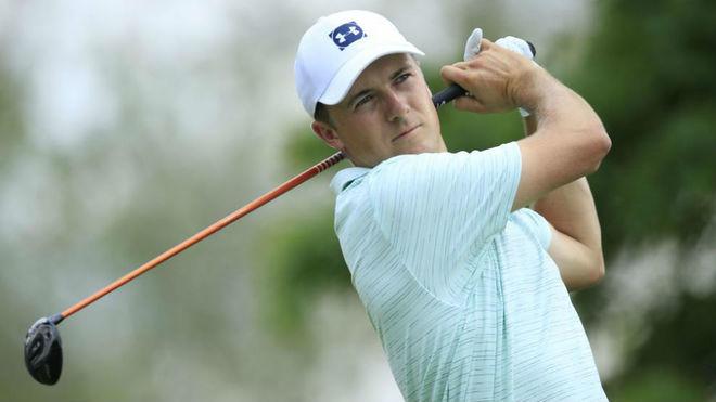 Jordan Spieth durante la segunda ronda en Ohio.