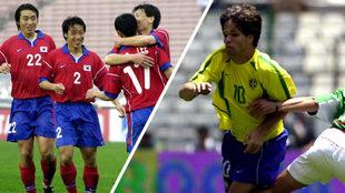 Corea del Sur y Brasil enfrentaron a México en el certamen dorado.