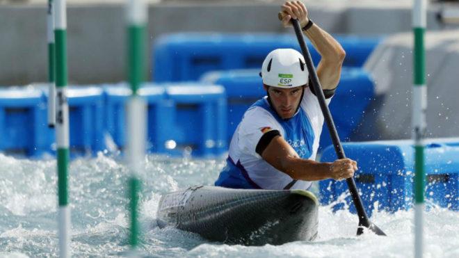 Ander Elosegi, en los Juegos de Río.