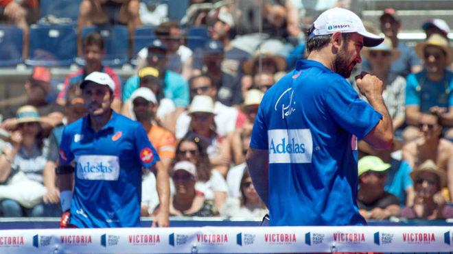 Belasteguin y Lima, en el último torneo del WPT en Jaén.