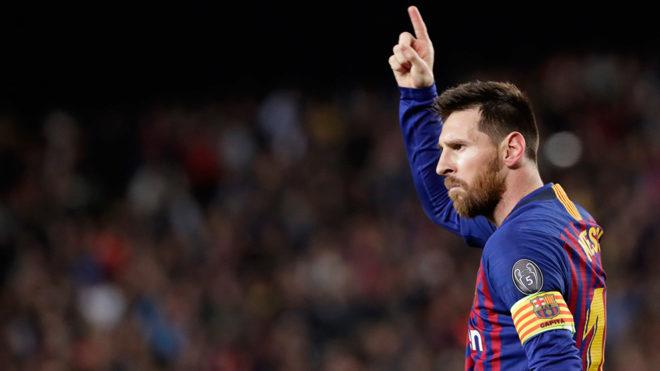 Messi se quedó con el consuelo del campeonato de goleo