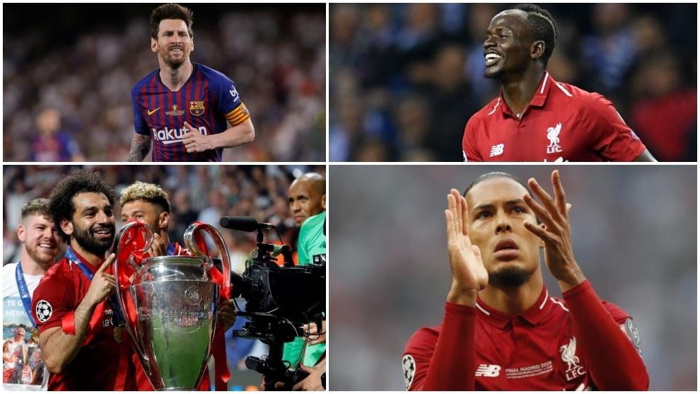 Messi, Mane, Salah and Van Dijk.