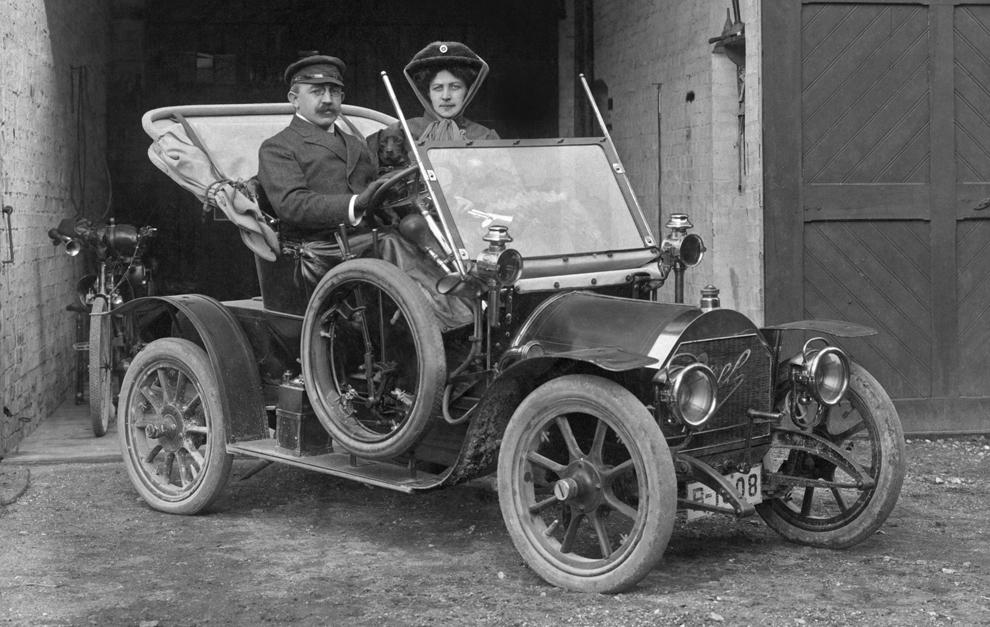 Opel Doktorwagen 12P de 1909