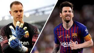 Los mejores del Barcelona en la Liga de Campeones