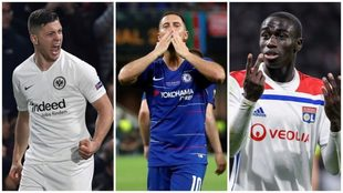 Luka Jovic, Eden Hazard y Mendy, los fichajes que está a punto de...